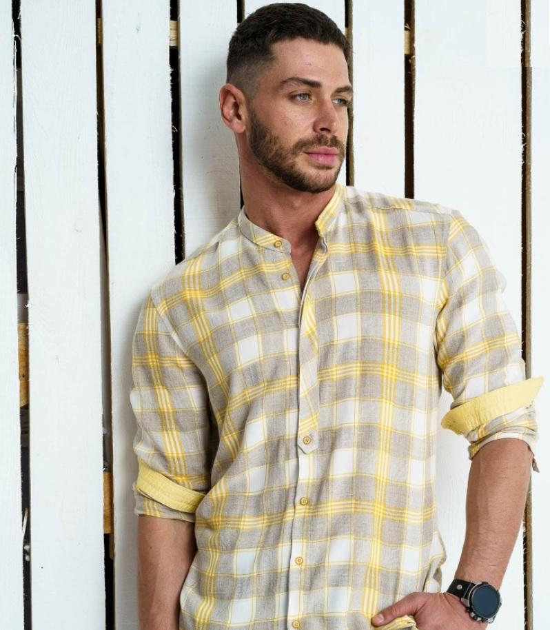 Мъжка риза за светли дънки