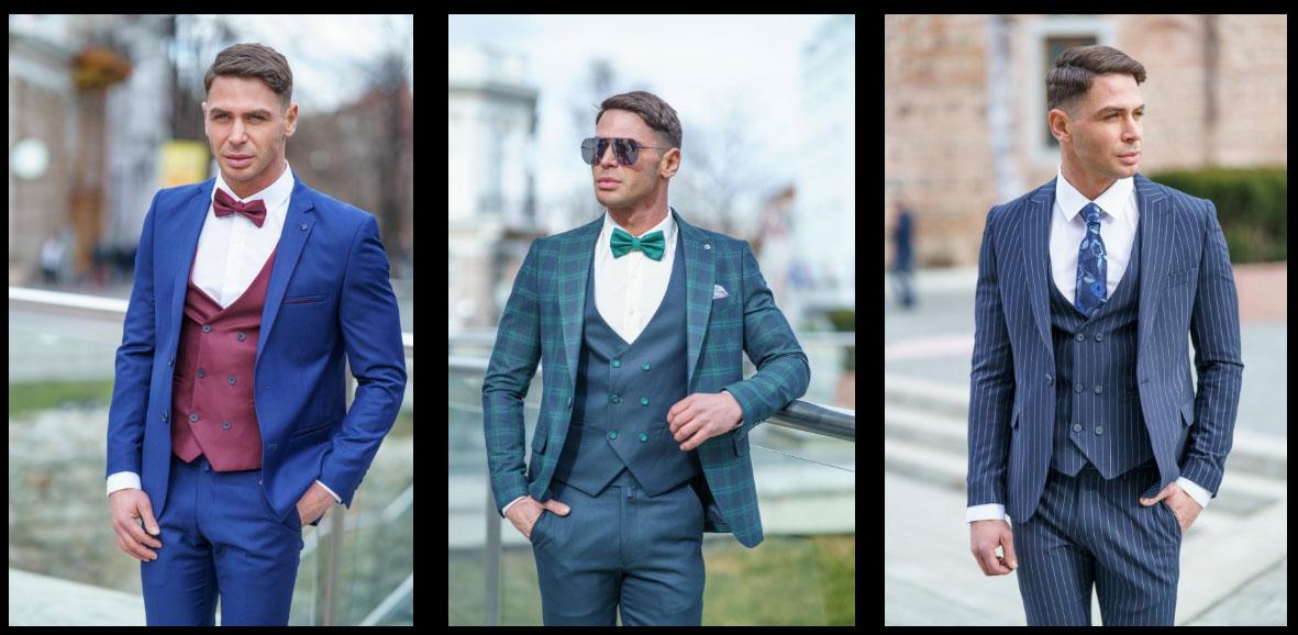 Модели мъжки костюми за сватба