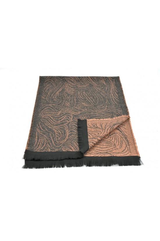 Мъжки двулицев шал Color 6