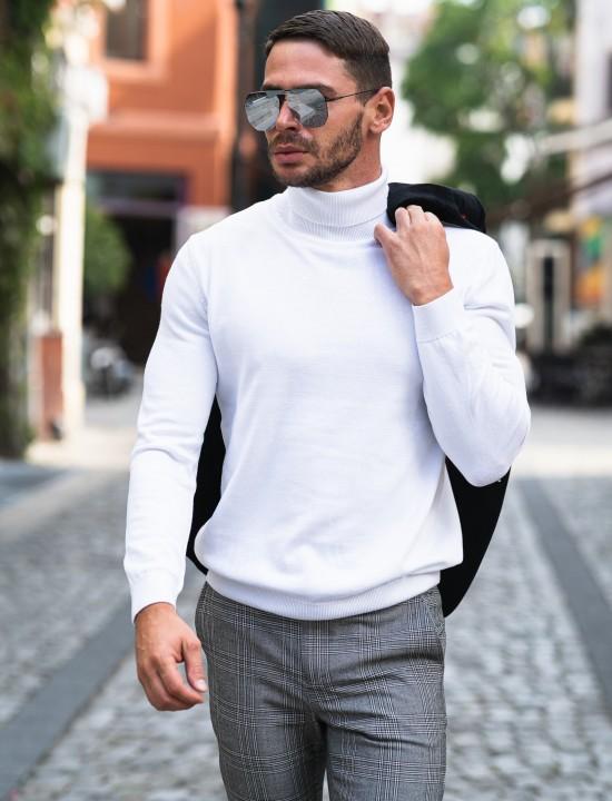 Мъжко поло бяло